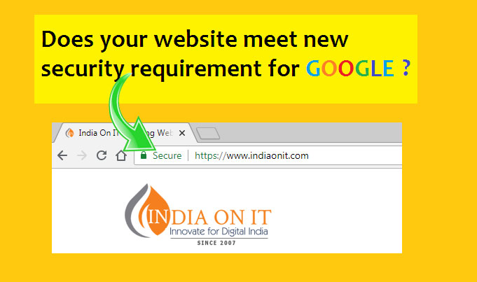 Does your website meet new security requirement for google ?